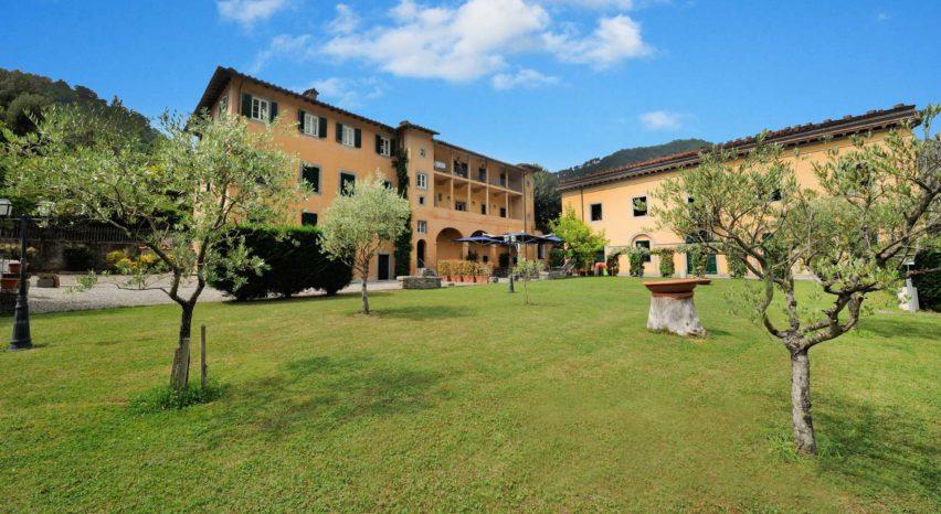 Hotel con parco Bagni di Lucca.