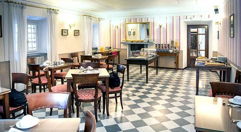 Sala colazione - B&B a Bagni di Lucca.