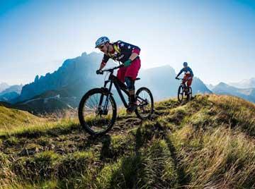 Mountain-bike in Garfagnana