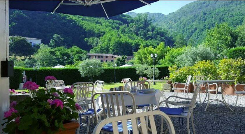 Albergo con piscina - Terme di Bagni di Lucca